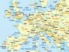 Planisphère de l'Europe